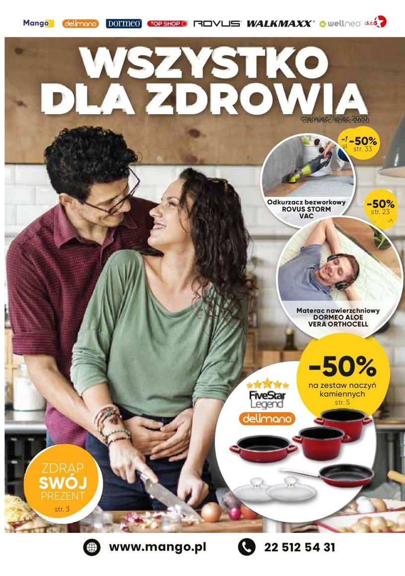 Gazetka promocyjna Telezakupy Mango - ważna od 01. 07. 2020 do 31. 07. 2020