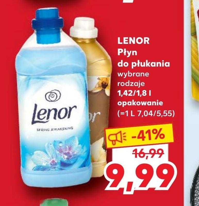 Płyn do płukania tkanin Lenor niska cena