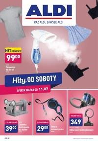 Gazetka promocyjna Aldi - Hity od soboty w Aldi!