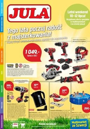 Gazetka promocyjna Jula - Jula - poczuj radość z majsterkowania
