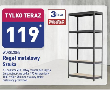 Regał metalowy