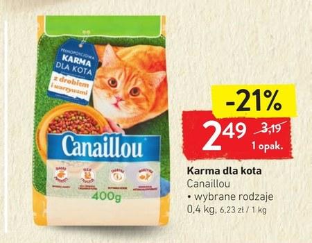 Karma dla kota Canaillou