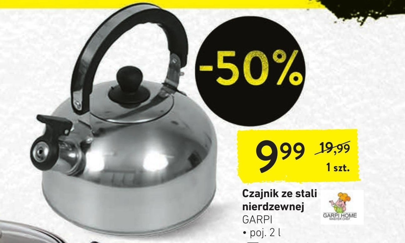 Czajnik Garpi niska cena