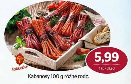Kabanosy Sokołów