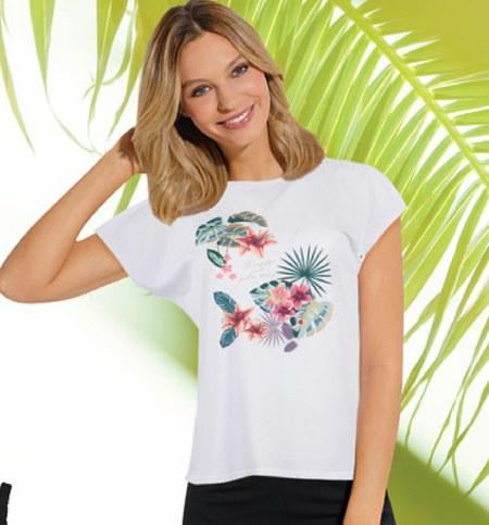 T-shirt damski Tom & Rose