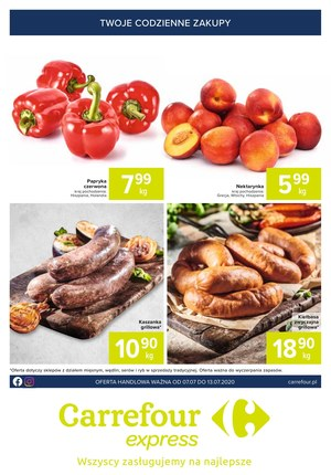 Gazetka promocyjna Carrefour Express - Cudowne okazje w Carrefour Express