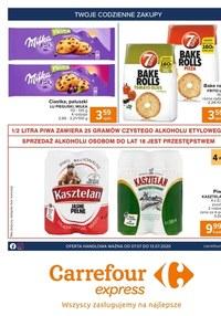 Gazetka promocyjna Carrefour Express - Taniej z aplikacją w Carrefur Express!