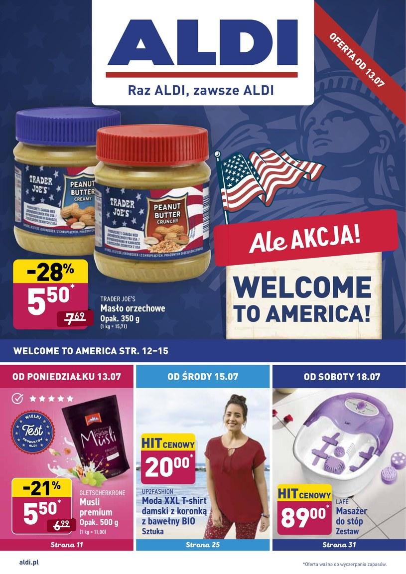 Gazetka promocyjna Aldi - ważna od 13. 07. 2020 do 18. 07. 2020