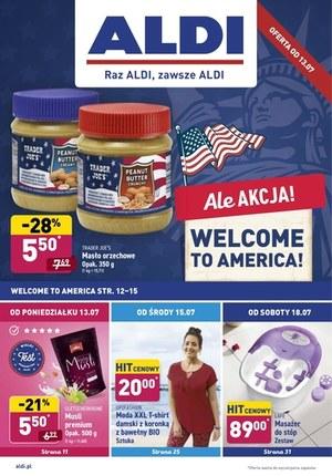 Gazetka promocyjna Aldi - Tydzień amerykański w Aldi