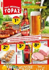 Gazetka promocyjna Topaz - Skarby w Topaz!