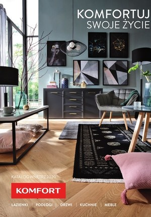 Gazetka promocyjna Komfort - Komfortuj swoje życie - Katalog 2020 Komfort