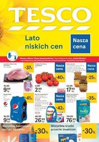 Gazetka promocyjna Tesco Centra Handlowe - Lato niskich cen w Tesco! - ważna do 15-07-2020