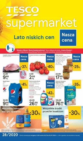 Lato niskich cen w Tesco Supermarket!