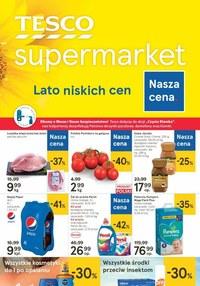 Gazetka promocyjna Tesco Supermarket - Lato niskich cen w Tesco Supermarket! - ważna do 15-07-2020