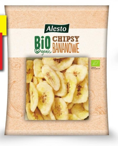 Chipsy bananowe Alesto