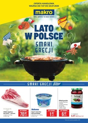 Oferta specjalna Makro - smaki Grecji!