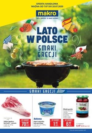 Gazetka promocyjna Makro Cash&Carry - Oferta specjalna Makro - smaki Grecji!