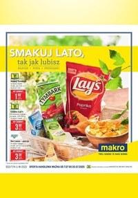 Gazetka promocyjna Makro Cash&Carry - Smakuj lato w Makro!  - ważna do 20-07-2020