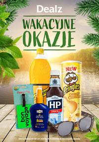Gazetka promocyjna Dealz - Wakacyjne okazje w Dealz!  - ważna do 19-07-2020