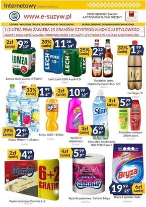 Super ceny w sklepach Sużyw!