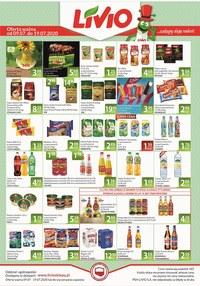 Gazetka promocyjna Livio - Promocje w sklepach Livio - ważna do 19-07-2020