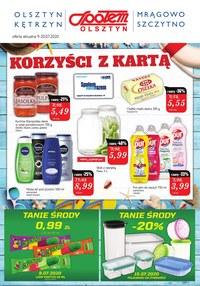 Gazetka promocyjna Społem Olsztyn - Super ceny w Społem Olsztyn - ważna do 20-07-2020