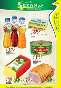 Gazetka promocyjna Sezamek - Zakupy z bonusem w Sezamku!  - ważna do 19-07-2020