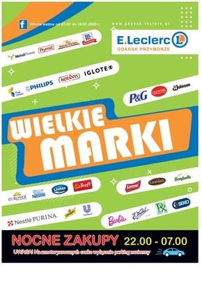 Wielkie marki w E.Leclerc Gdańsk