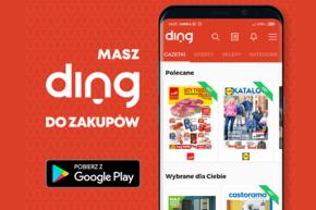 Aplikacja DING - gazetki promocyjne w Twoim telefonie!
