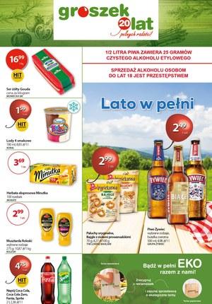 Gazetka promocyjna Groszek  - Promocje w sklepie Groszek