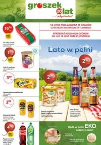 Gazetka promocyjna Groszek  - Promocje w sklepie Groszek  - ważna do 21-07-2020