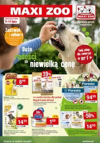 Gazetka promocyjna Maxi ZOO - Dużo radości za niewielką cenę Maxi ZOO - ważna do 14-07-2020