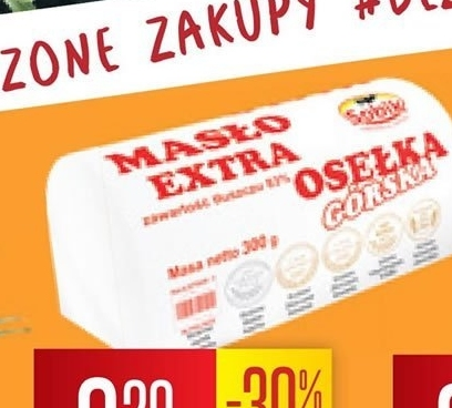 Masło Sobik niska cena