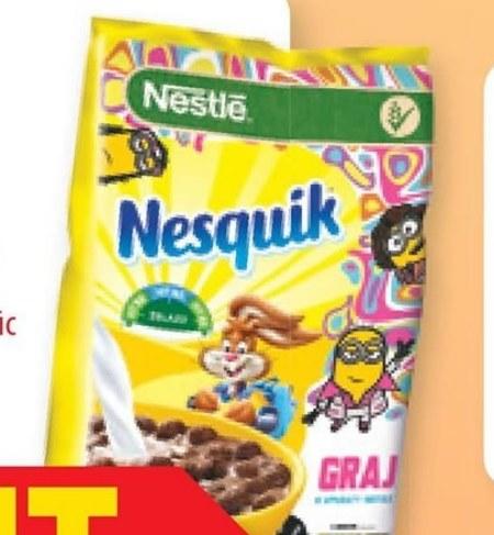 Płatki śniadaniowe Nesquik