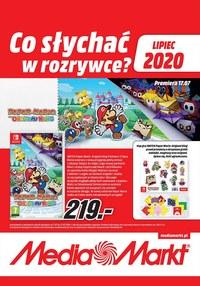 Gazetka promocyjna Media Markt - Co słychać w rozrywce w Media Markt - ważna do 31-07-2020