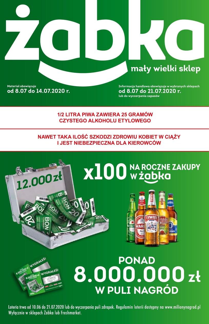 Gazetka promocyjna Żabka - ważna od 08. 07. 2020 do 21. 07. 2020