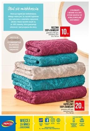 Miękkie ręczniki w Pepco