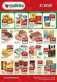 Gazetka promocyjna MALINKA Market - Promocje w Malinka Market - ważna do 22-07-2020