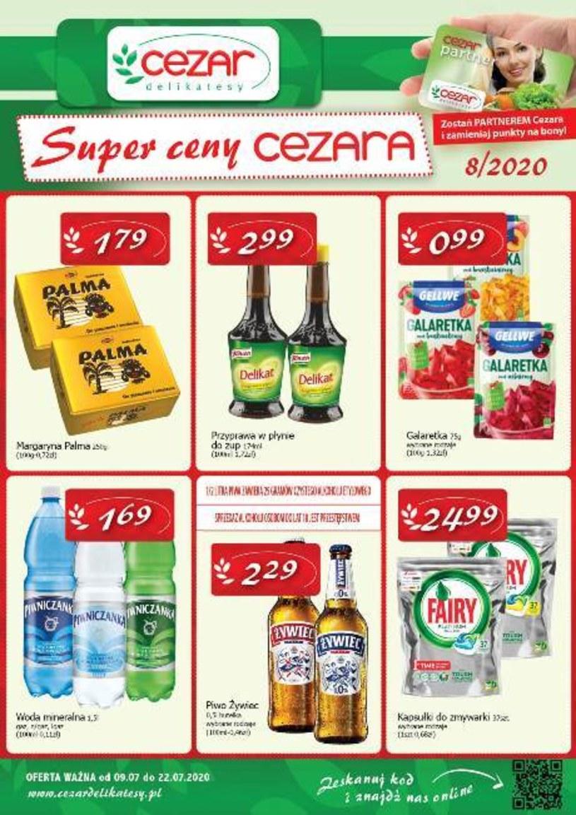 Gazetka promocyjna Delikatesy CEZAR - ważna od 09. 07. 2020 do 22. 07. 2020