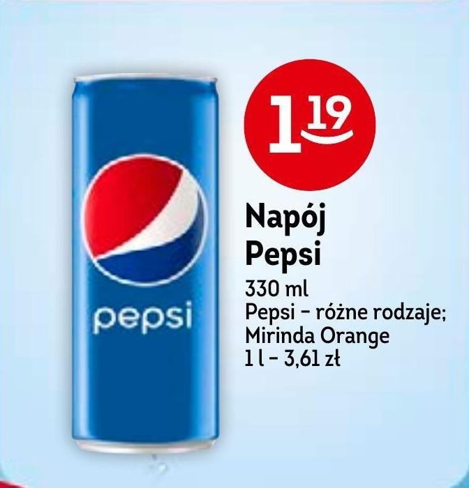 Napój gazowany Pepsi niska cena