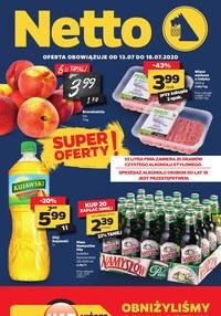Gazetka promocyjna Netto - Najnowsza oferta spożywcza Netto - ważna do 18-07-2020