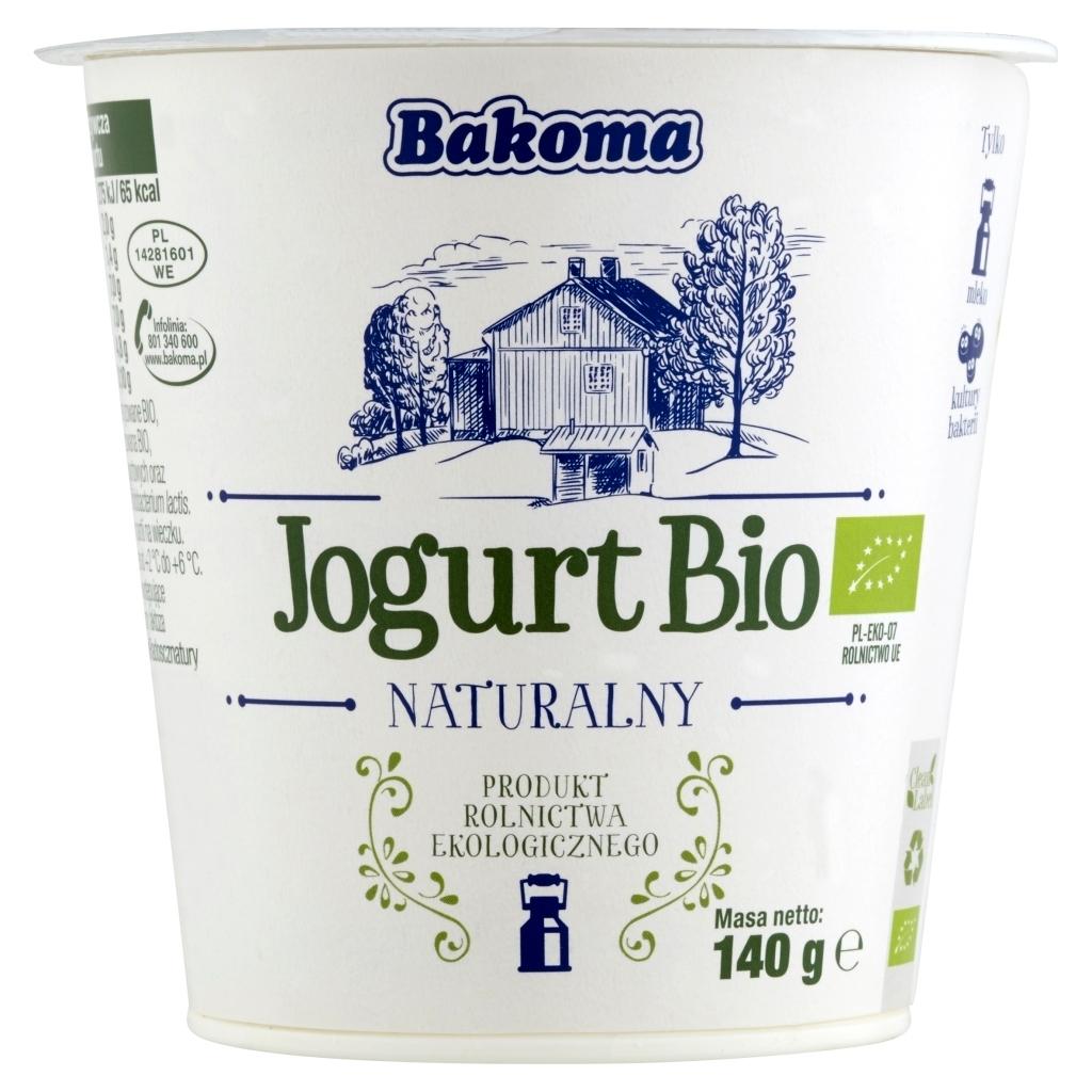 Jogurt naturalny Bakoma - 1