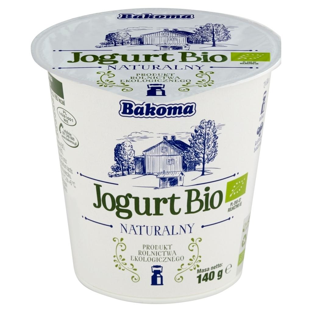 Jogurt naturalny Bakoma - 0