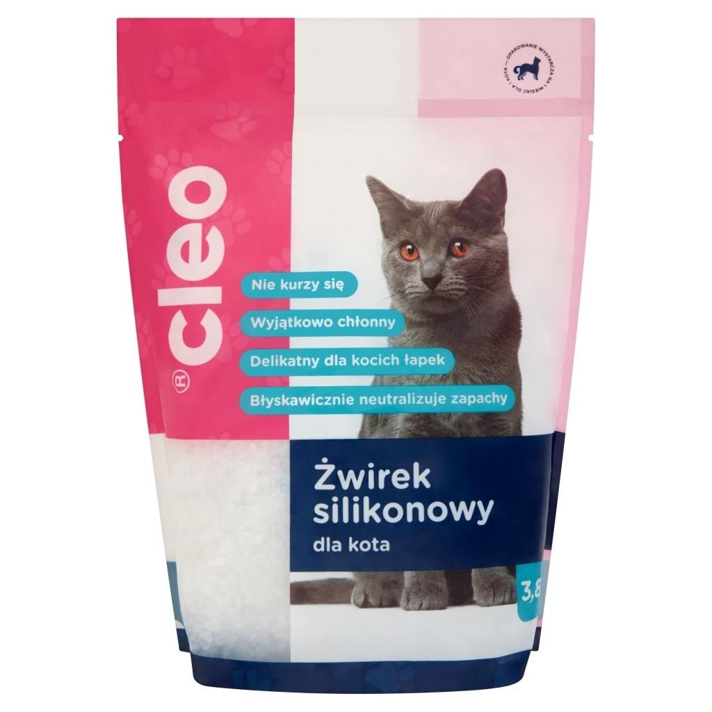 Żwirek dla kota Cleo