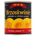 Brzoskwinie w syropie MK