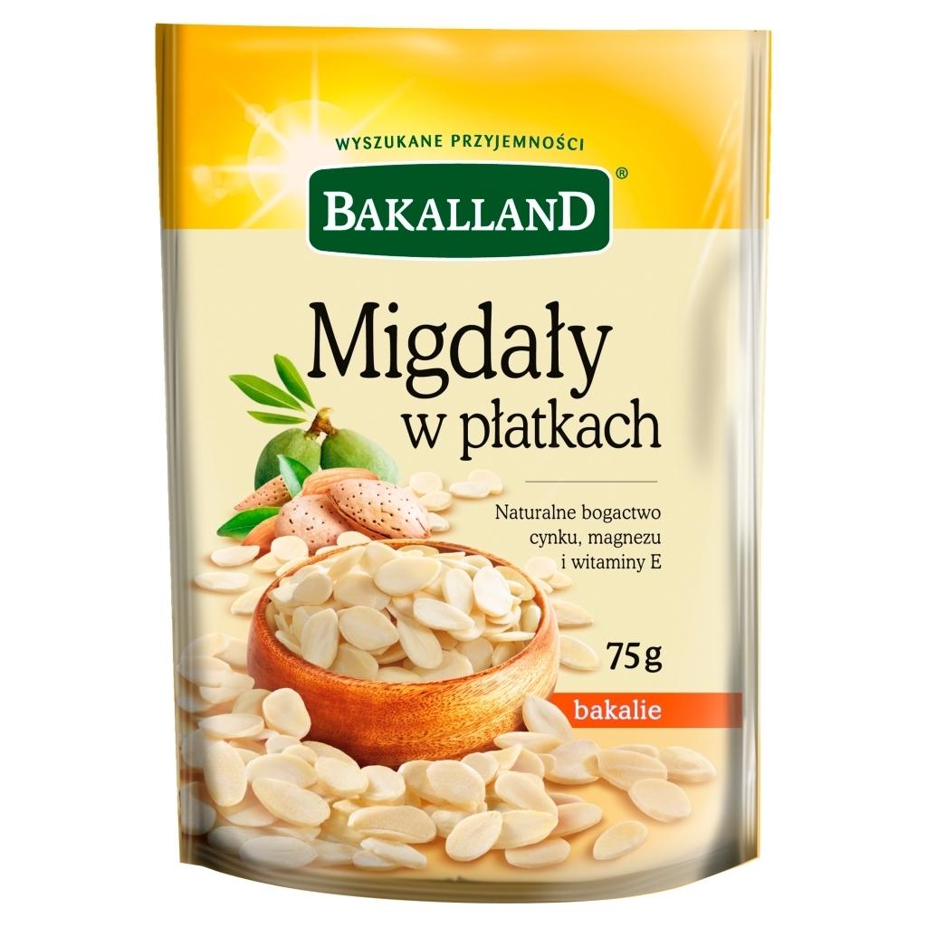 Migdały płatki Bakalland
