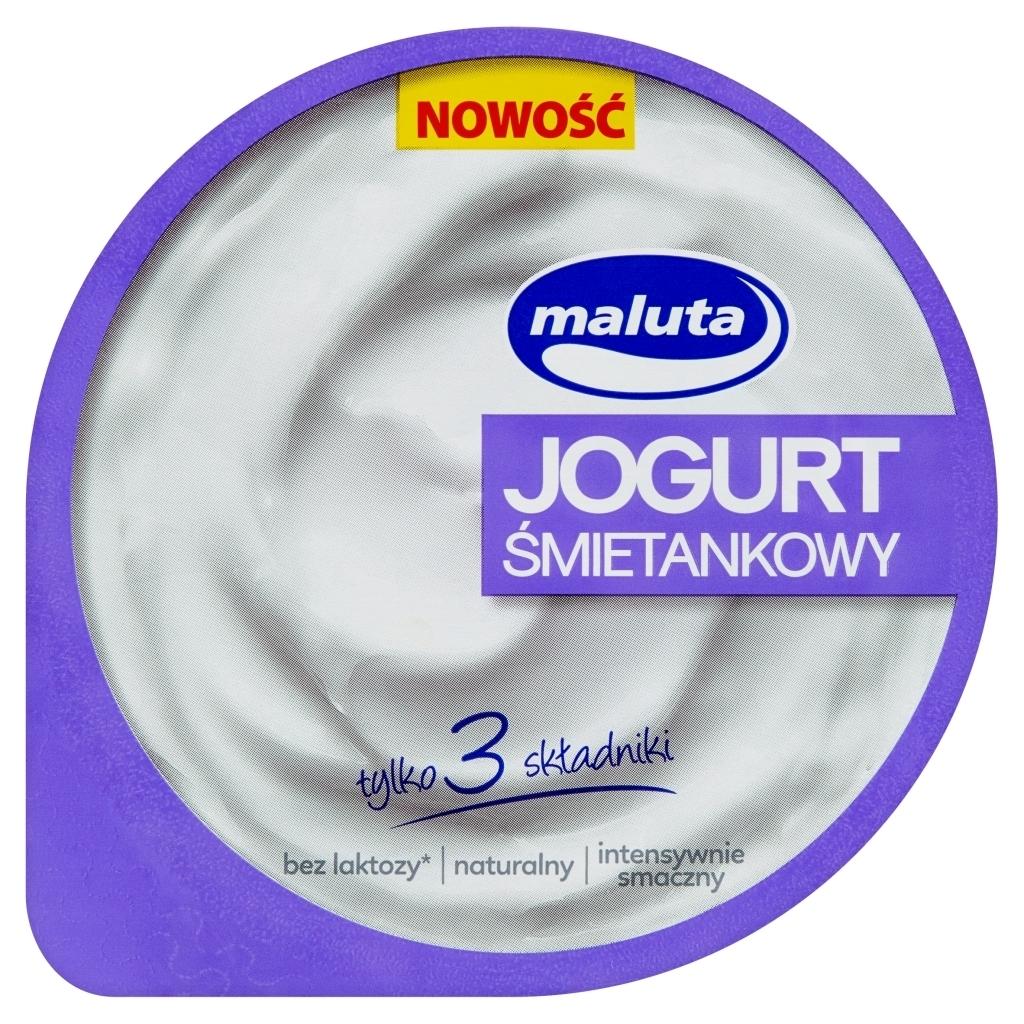 Jogurt śmietankowy Maluta