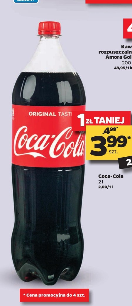 Napój gazowany Coca-Cola