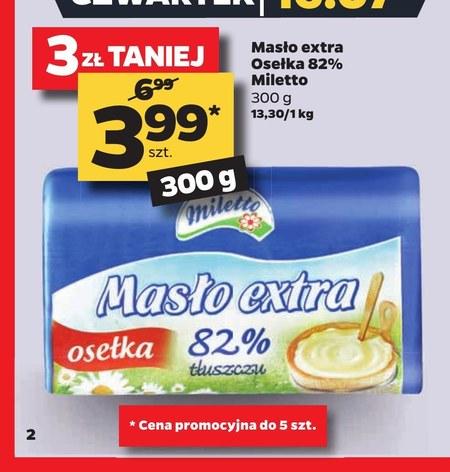 Masło Miletto