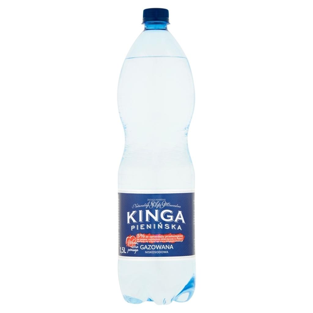 Woda mineralna Kinga Pienińska